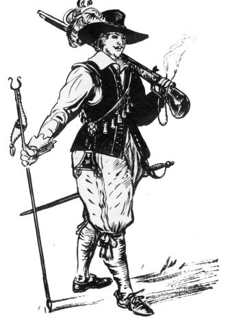 the project gutenberg ebook of new discoveries at jamestown by john Build Potato Gun a jamestown sentry on duty shouldering his heavy matchlock musket conjectural sketch by sidney e king