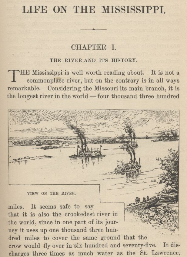 Life on the Mississippi, Complete, by Mark Twain