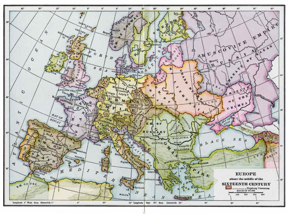 an overview of the europeans of the early 16th century The period of european history referred to as the renaissance was a time of great social and cultural change in europe generally speaking, the renaissance spanned from the 14th to the 16th centuries, spreading across europe from its birthplace in italy during the middle ages, italy was not the unified country that it is today.