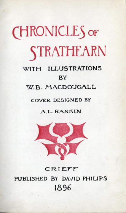 34a5b613 The Project Gutenberg E-text of Chronicles of Strathearn, by Various