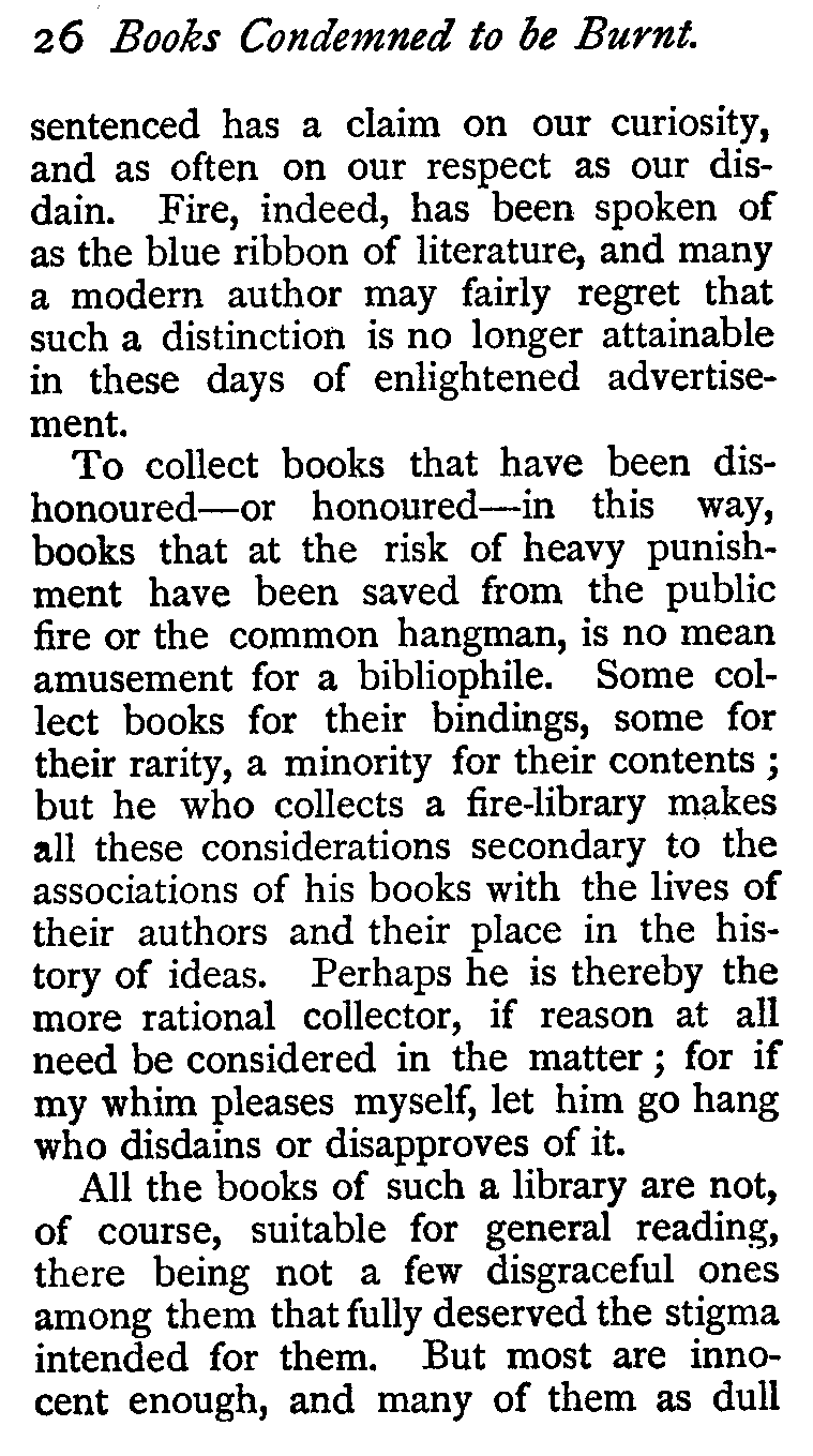 The Project Gutenberg eBook of Books Condemned to be Burnt