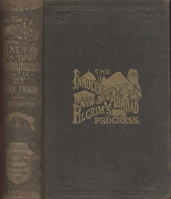 INNOCENTS ABROAD BY MARK TWAIN, COMPLETE