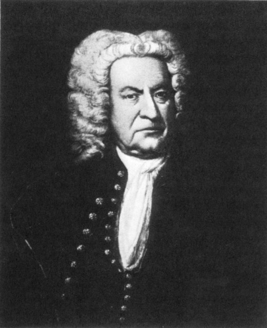 Johann Sebastian Bach. From the picture discovered by Professor Fritz Volbach