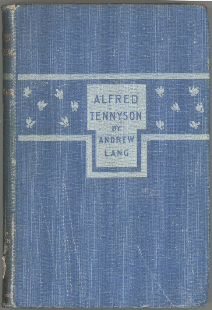 Alfred Tennyson, by Andrew Lang