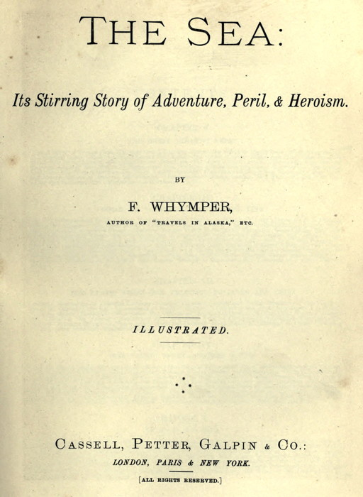 The project gutenberg ebook of the sea its stirring story of cover image fandeluxe Gallery