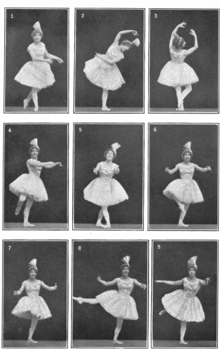 7e29b5d7cb1d7 Image not available: Classic Ballet Positions Mlle. Louise La Gai Typical  moments in a