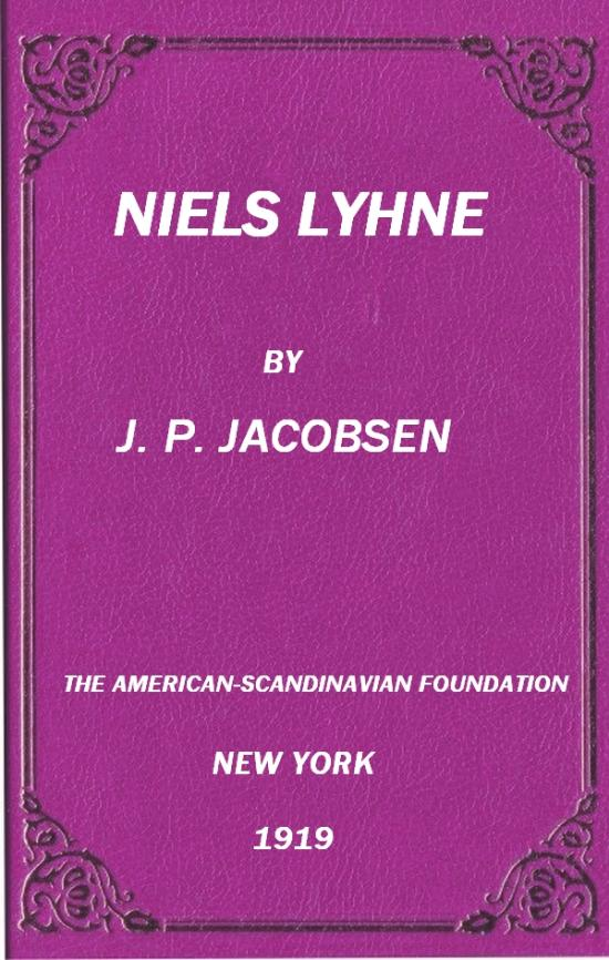 The Project Gutenberg eBook of Niels Lyhne, by J  P  (Jens