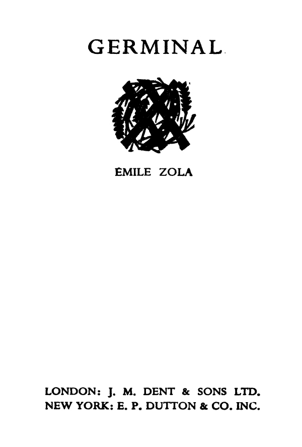 The Project Gutenberg eBook of Germinal, by Émile Zola