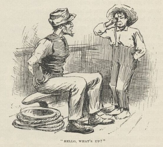 an analysis of the relationship of huck and jim in the adventures of huckleberry finn a novel by mar The adventures of huckleberry finn get the entire adventures of huck finn exemplified by their detainment of jim (read full character analysis.